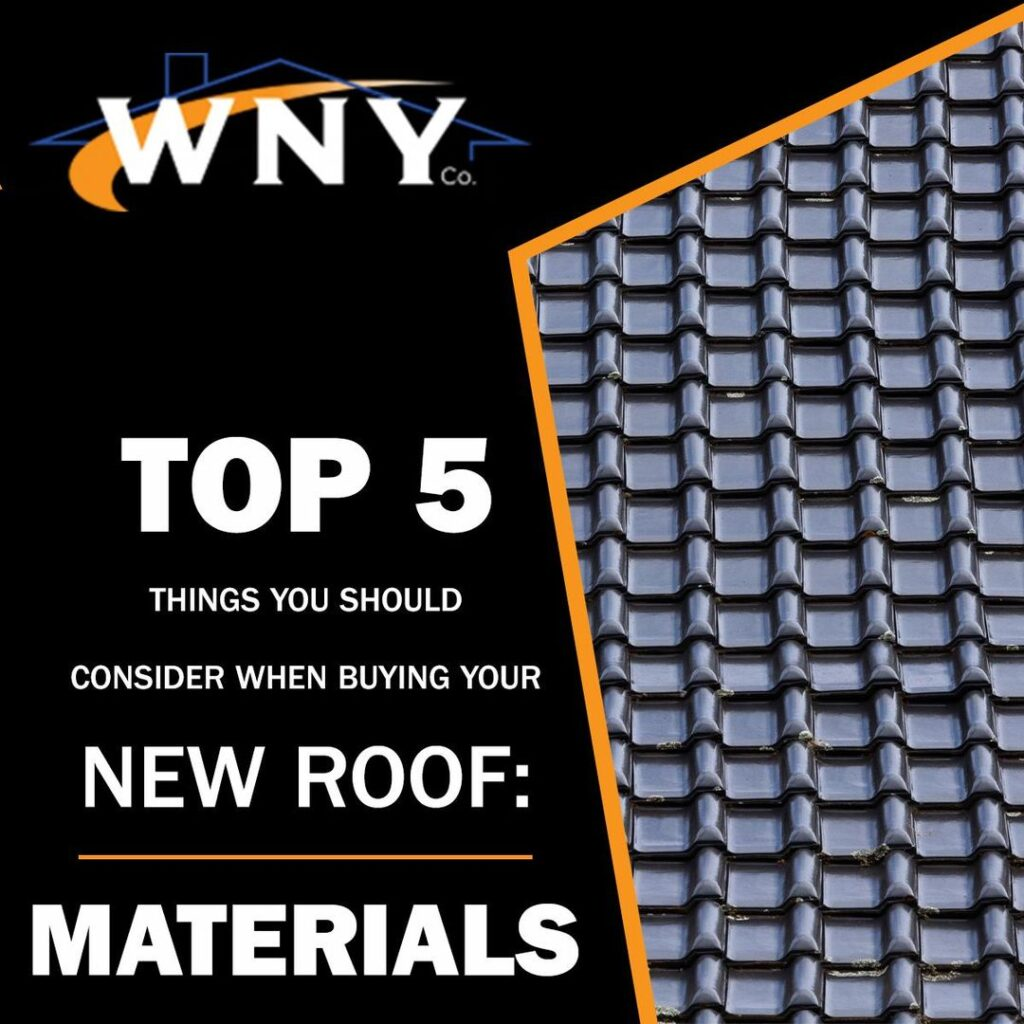 New Roof: Materials