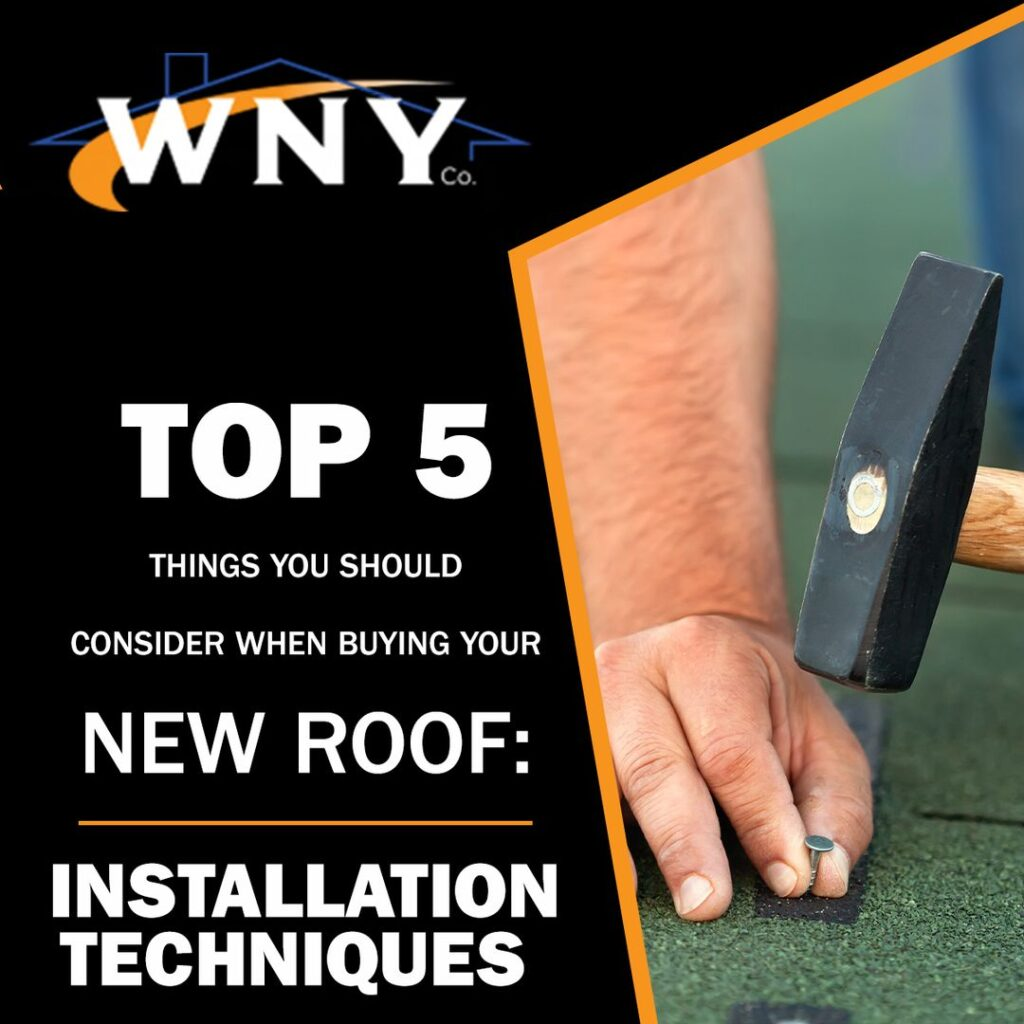 New Roof: Installation Techniques