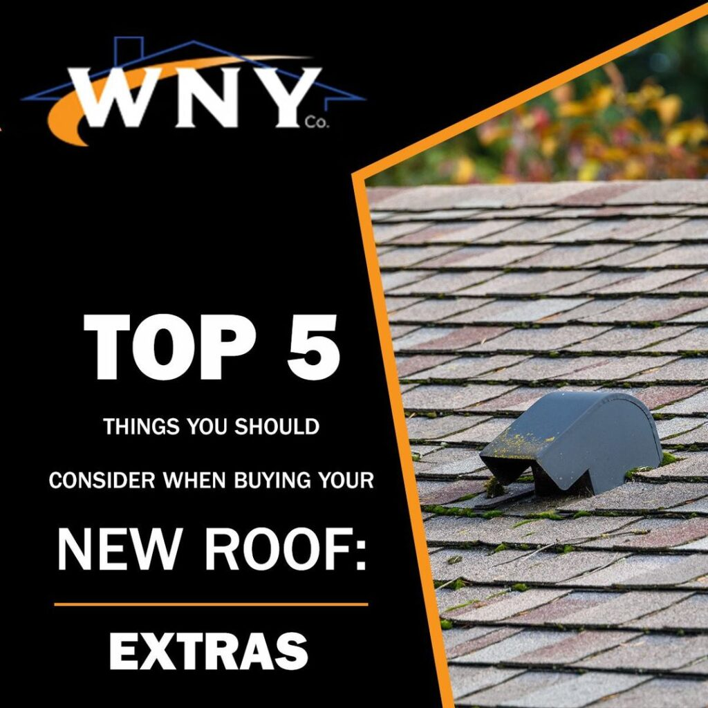New Roof: Extras